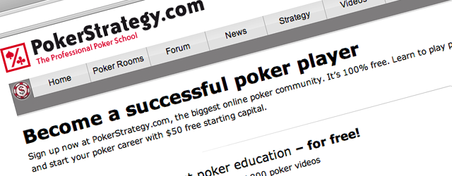 About PokerStrategy.com Interested in learning poker? Don't want to spend any money? Get the best possible offer now! In recent years, online poker has experienced a rapid growth in online […]